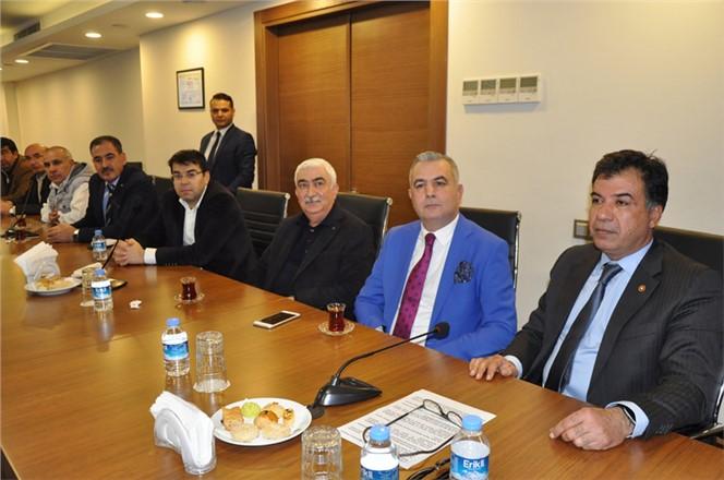 Baki Şimşek Tarsus TSO 2018 Meclis Toplantısına Katıldı