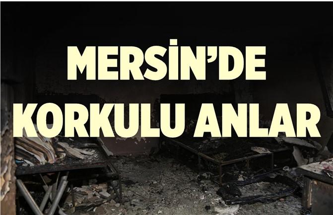 Mersin'de Yangın Korkuttu