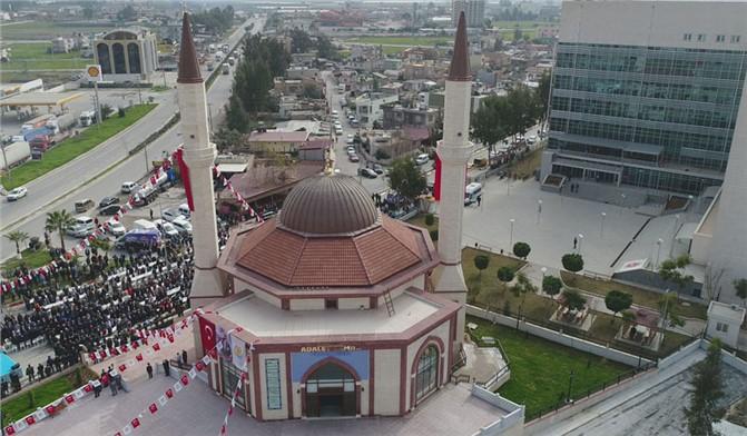 Tarsus'ta Adalet Camii ve Taziye Evi Açılışı Yapıldı