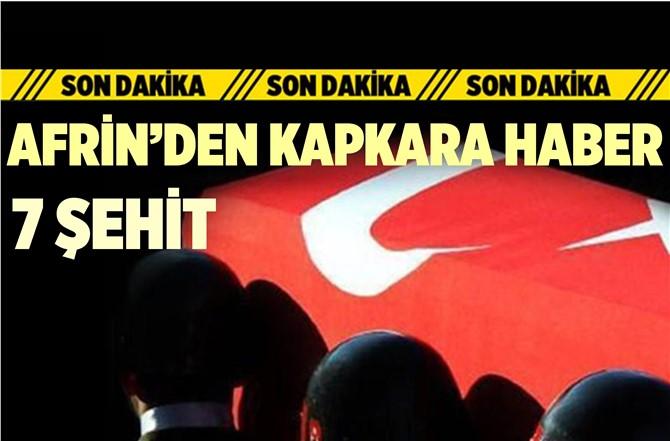 Afrin'den Kapkara Haber