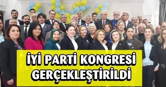 İYİ Parti Tarsus İlçe Kongresi Eski Bakan Ayfer Yılmaz'ın Katılımıyla Gerçekleşti