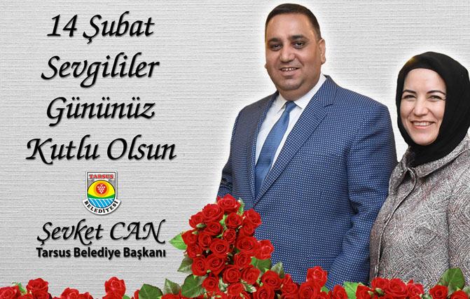 Başkan Can, 14 Şubat Sevgililer Günü'nü Kutladı