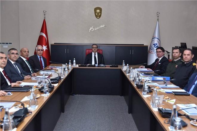 Mersin 112 Acil Çağrı Hizmetleri İl Koordinasyon Komisyonu Toplandı