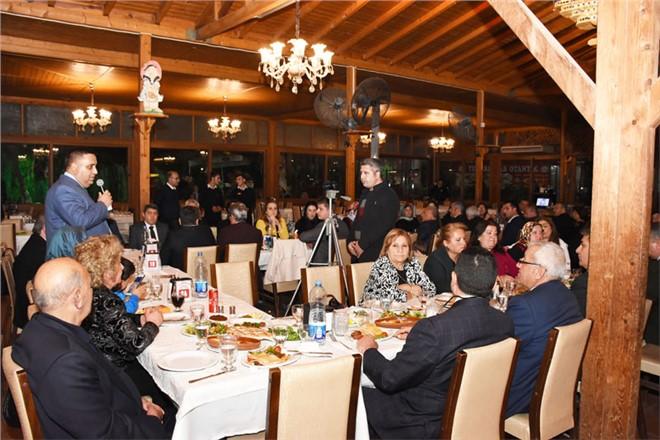 Başkan Can, İlçede Bulunan Oda Başkanları ve Eşleriyle Bir Araya Geldi