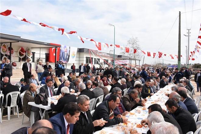 Yunus Emre Mahallesi Taziye Evi Yoğun Katılımla Açıldı