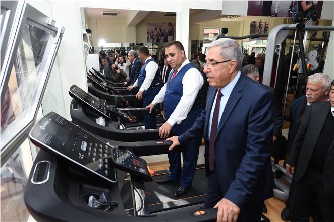 Bedrettin Sarpkaya Yaşam Boyu Spor Merkezi Açıldı