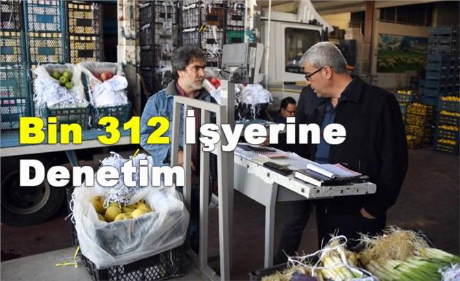 Mersin'de İş Yerlerine Ansızın Hijyen Denetimi, Geçen Yıl 1.312 Yapıldı