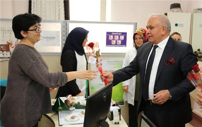 Başkan'dan Sağlık Çalışanlarına Ziyaret