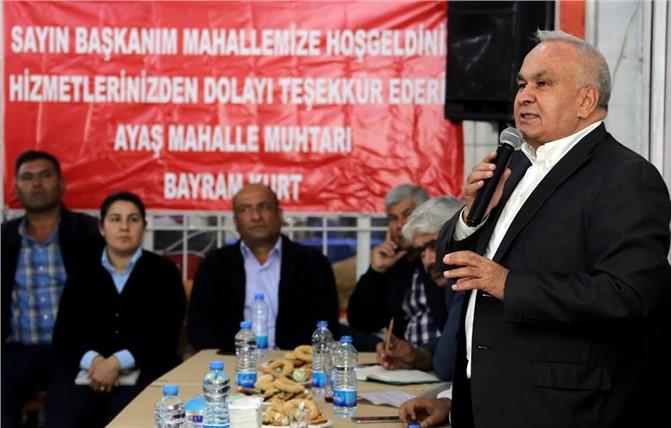 Erdemli Belediye Başkanı Tollu, Vatandaşlarla Buluştu
