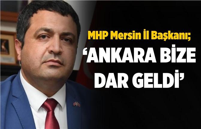 MHP Mersin İl Başkanı Gölgeli'den Açıklama