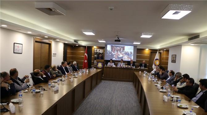 Tarsus Ticaret ve Sanayi Odası Meclis Toplantısı Yapıldı