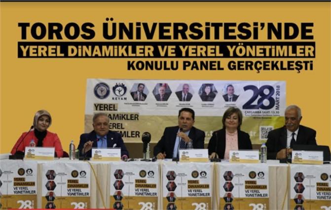 Toros Üniversitesi'nde Önemli Panel