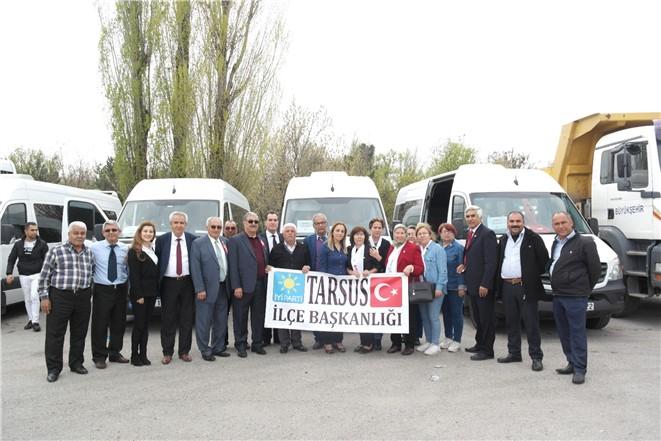 Tarsus İYİ Parti Ankara'da