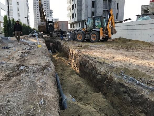Altaylılar (Ülküköy) Mahallesin'de Yeni Yerleşim Yerinlerine Yeni Kanalizazyon Hattı