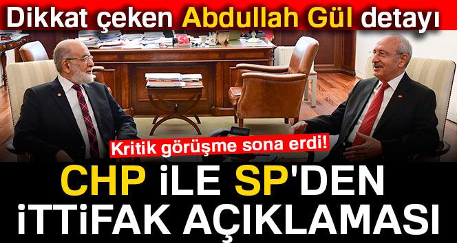 Kritik CHP ile SP  görüşmesi sona erdi!