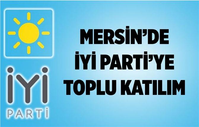 Mersin'de İyi Parti'ye Toplu Katılım