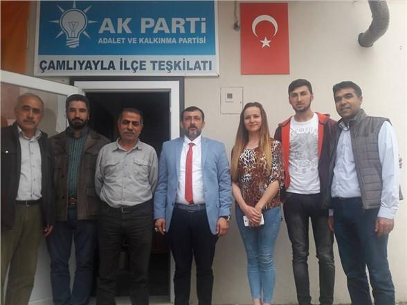 AK Parti A.Adayı Zeki Kaba Ziyaretlere Devam Ediyor