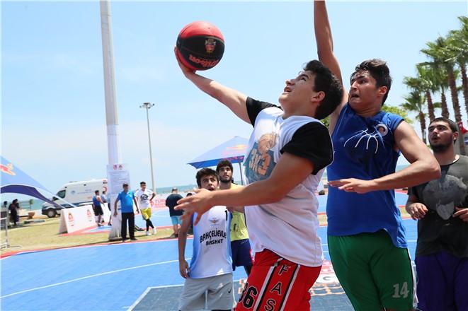 Sokak Basketbolu Turnuvaları Mersin'de