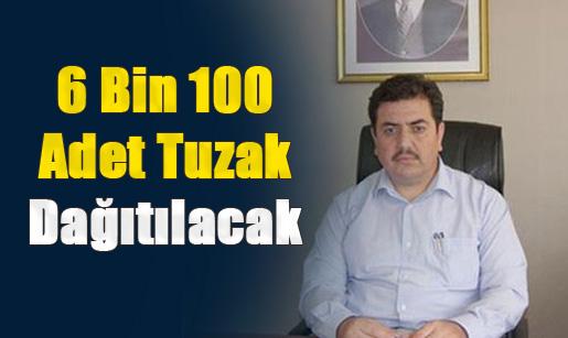 Mersin Tarsus'ta Çiftçiye 6 Bin 100 Adet Tuzak Dağıtılacak