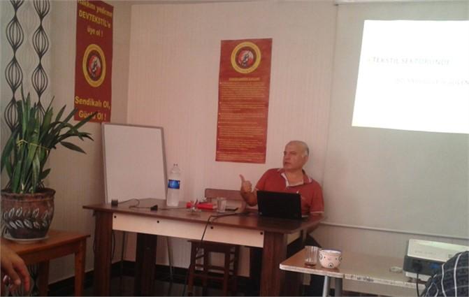 Mersin'de İşçi Sağlığı Ve İşçi Güvenliği Semineri