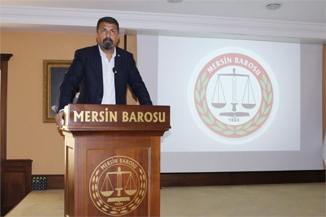 """Mersin Baro Başkanı Yeşilboğaz: """"Nükleer Silahsız Bir Dünya İstiyoruz"""""""