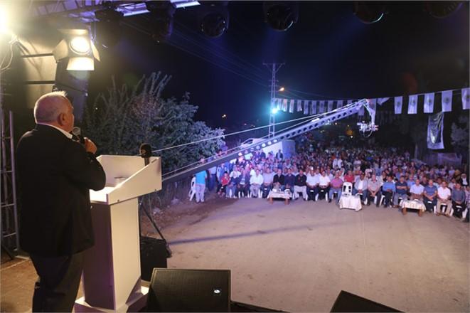 Mersin Erdemli Belediye Başkanı Tollu Vatandaşlarla Avgadı'da Bayramlaştı