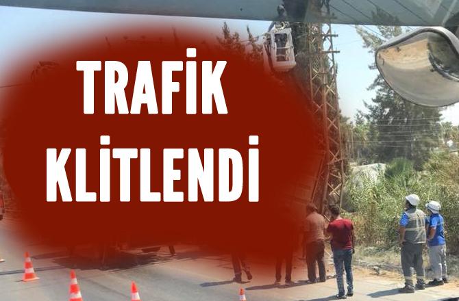 Mersin - Adana Karayolu Kazanlı Civarında D-400 Karayolu Kilitlendi