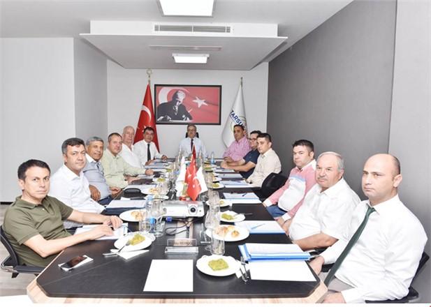 Tarsus Gıda İhtisas OSB Yönetim Kurulu ile Müteşebbis Heyeti Vali Su Başkanlığında Topland..