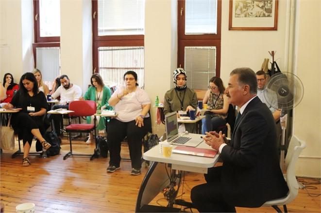 Mersin Toroslar Belediye Başkanı Hamit Tuna, Boğaziçi Üniversitesi'nde Belediyeciliği Anlattı