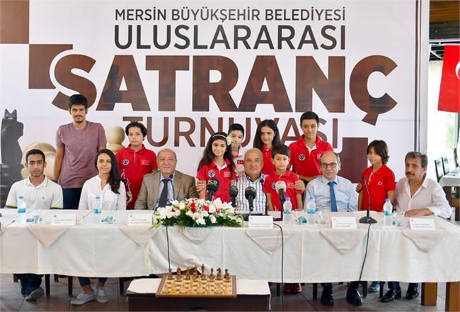 Mersin'de Uluslararası Satranç Turnuvası Heyecanı Başlıyor, Turnuva 9-15 Eylül Arası