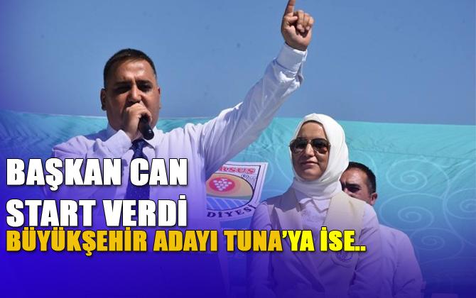 """Başkan Şevket Can Kurban Keserek Seçim Startını Verdi, """"Hamit Tuna'yla El Ele, Gönül Gönüle"""""""