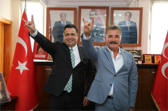MHP Mersin Büyükşehir Adayı Başkan Tuna'dan, İl ve İlçe Teşkilatlarına Ziyaret