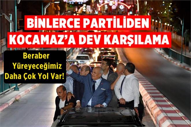 Mersin Bş. Belediye Başkanı Kocamaz'a Dev Karşılama
