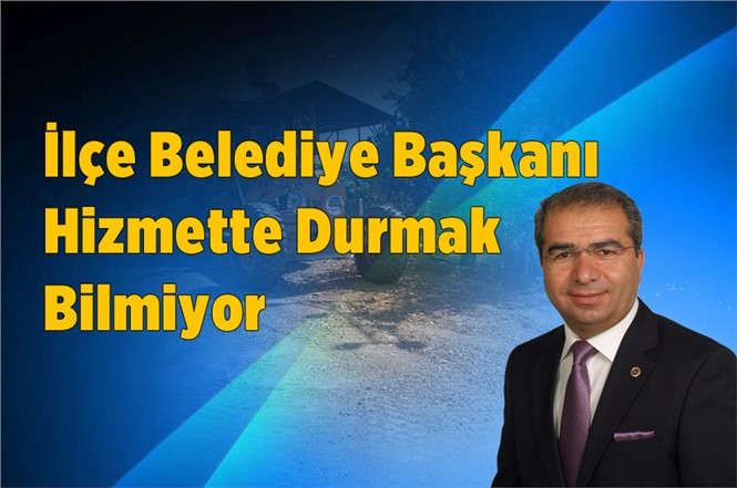 Mersin Çamlıyayla Belediye Başkanı Tepebağlı Takdir Topluyor