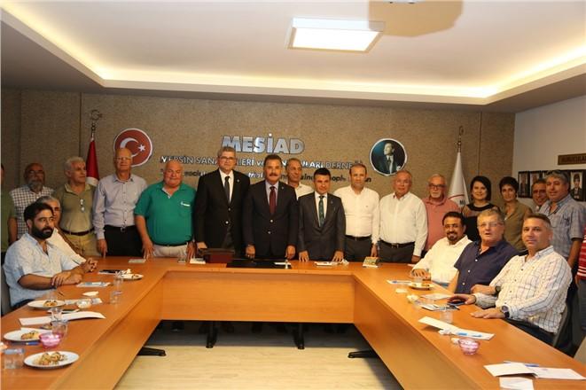 Başkan Tuna, Kentin Dinamikleri İle Bir Araya Geliyor