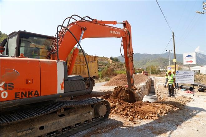 Mersin Anamur'da Kanalizasyon Sorunu Çözülüyor