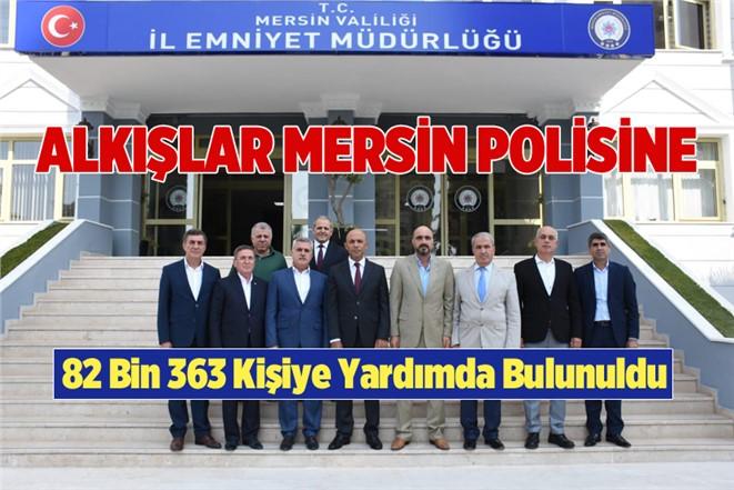 """Mersin Polisi """"Şefkat Evi"""" 82 Bin 363 Vatandaşa Yardım Yapıldı"""