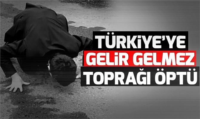 Ermenistan'da Gözaltına Alınan Umut Ali Özmen Türkiye'ye Girişte Toprağı Öptü