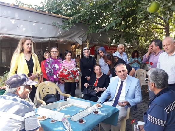 Mersin'de Huzurevine Ziyaret