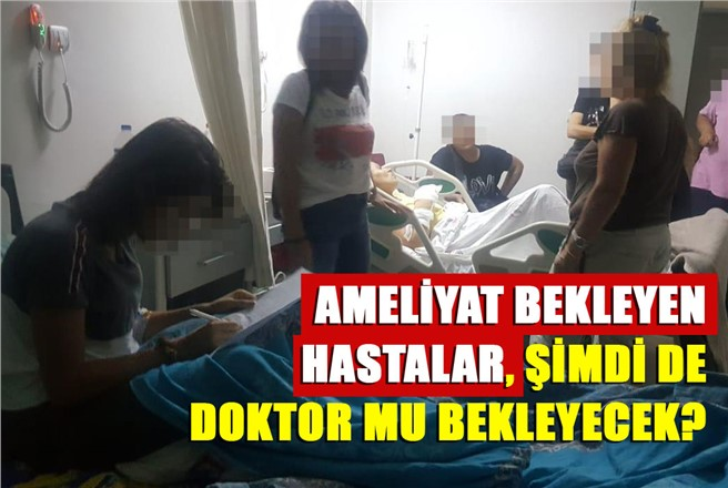 Mersin Tarsus'ta Aylardır Protez Bekleyen 52 Hasta, Şimdide Doktor Mu Bekleyecek?