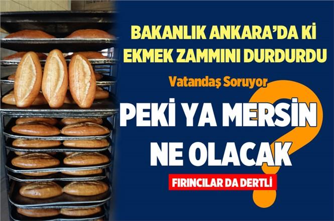Ticaret Bakanlığı Ekmek Zammını Durdurdu. Peki Mersindeki Zam Ne Olacak!