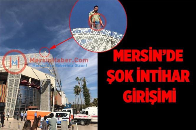 Mersin'de Şok İntihar Girişimi
