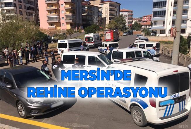 Mersin'de Rehine Kurtarma Operasyonu