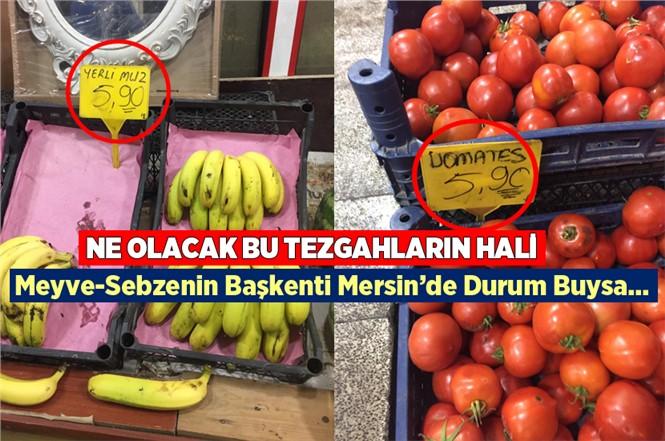 Mersin'de Tezgahlardaki Fiyatlar Cep Yakıyor