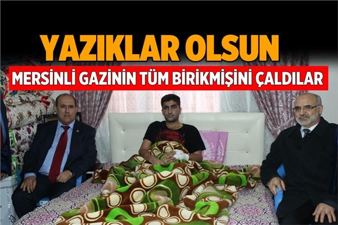 Mersin'de Terör Gazisi Celal Erbay'ın Evine Hırsız Girdi. Tüm Altınlarını Çaldılar