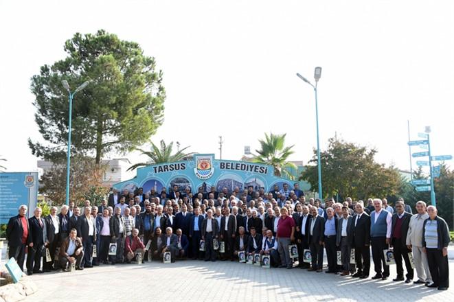 Tarsus Belediye Başkanı Şevket Can Muhtarların; 19 Ekim Muhtarlar Günü'nü Kutladı