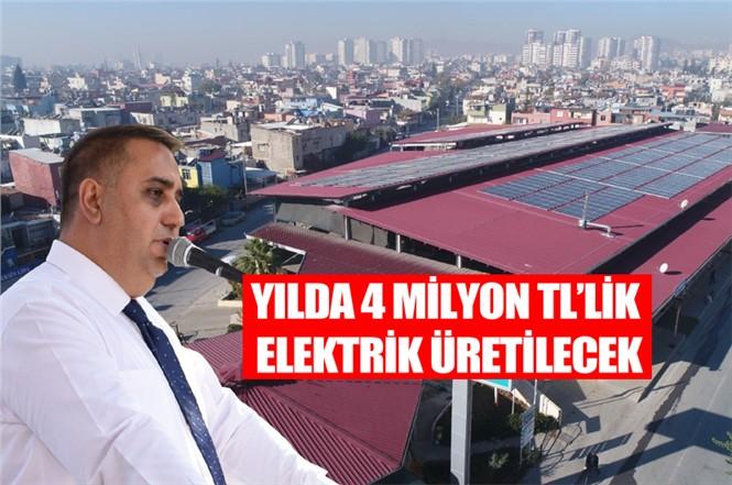 Güneş Enerji Santrali Projesi Tarsus'ta Törenle Hizmete Girdi