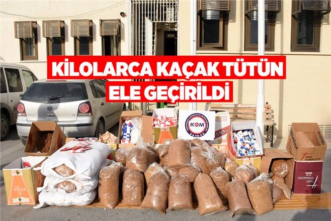 Mersin Tarsus'ta Kaçak Tütün Operasyonu