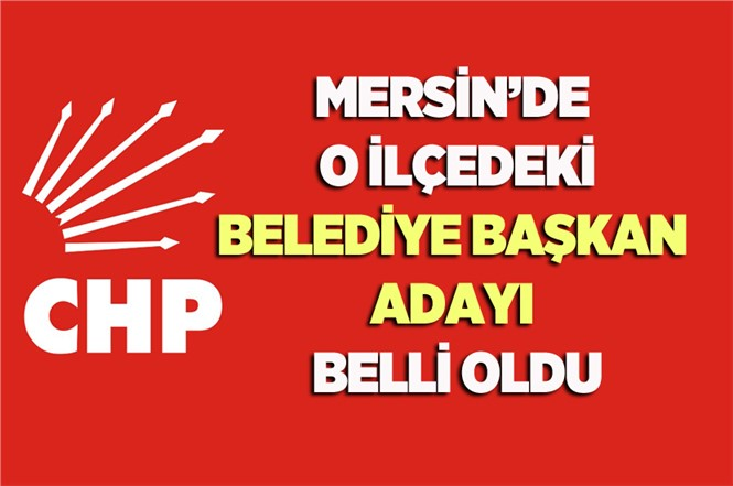 CHP Mersin Gülnar Belediye Başkan Adayı Mehmet Kale Oldu