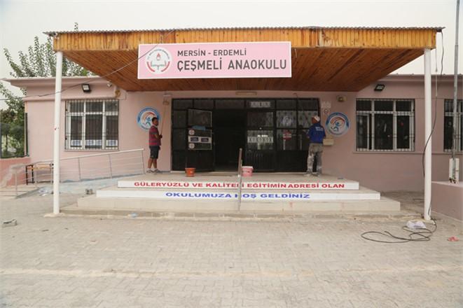 Okullar İstiyor, Mersin Erdemli Belediyesi Yapıyor
